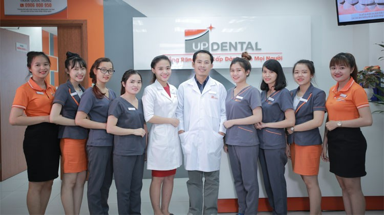 Nha khoa Up Dental - Tầm nhìn - sứ mệnh, câu chuyện thương hiệu và giá trị cốt lõi