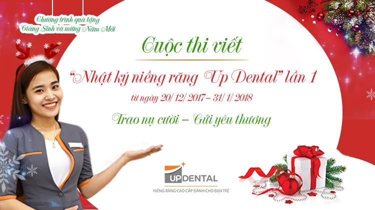 Nhật ký niềng răng Up Dental Lần 1