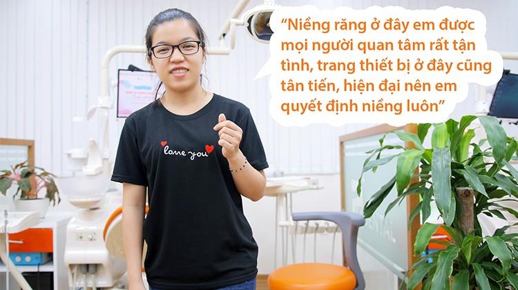 Niềng răng hô và những lưu ý từ nữ điều dưỡng 25 tuổi Huyền Vy