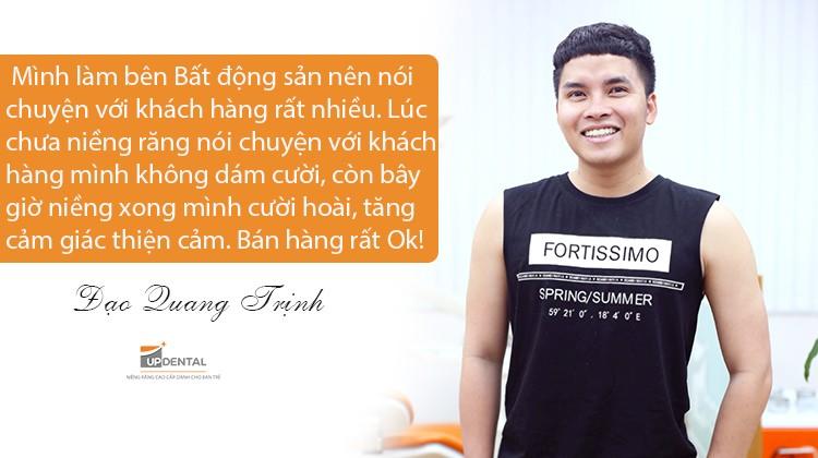 Niềng răng và sức mạnh thay đổi cuộc sống của chàng trai tự ti như thế nào - Quang Trịnh