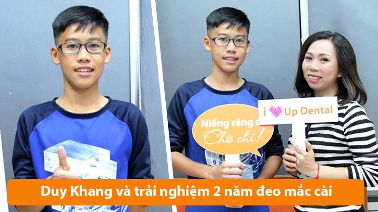 Niềng răng cần lưu ý gì? Bí quyết của Duy Khang (13 tuổi) và mẹ