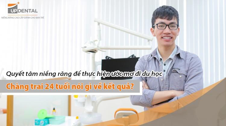 Quyết tâm đeo niềng 18 tháng để thực hiện ước mơ đi du học, chàng trai 24 tuổi nói gì về kết quả?