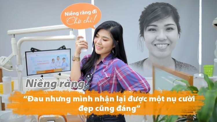 """Niềng răng: """"Đau nhưng mình nhận lại được một nụ cười đẹp cũng đáng"""" – Thùy Trang (27 tuổi)"""