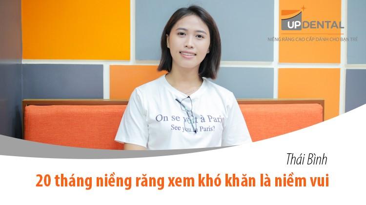 Thái Bình: 20 tháng niềng răng xem khó khăn là niềm vui