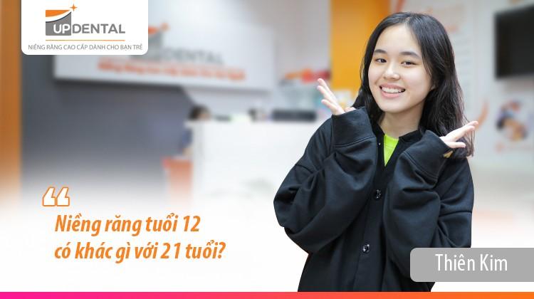 Niềng răng tuổi 12 có khác gì với 21 tuổi?