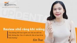 Review nhổ răng khi niềng không đau của Kim Thoa